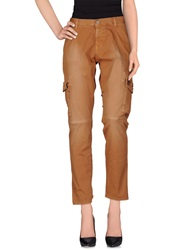 Two Women In The World Casual Pants Brown