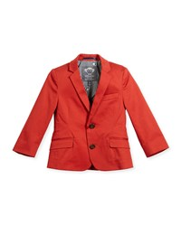 Appaman Boys' Cotton Stretch Blazer Size 2 14 Red