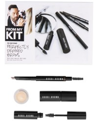 Bobbi Brown 4 Pc. 90 Second Perfectly Defined Brows Set 01 Blonde