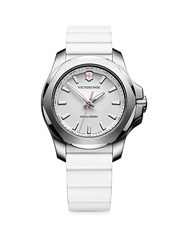 Victorinox I.N.O.X. Stainless Steel Analog Watch White