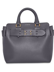 Burberry The Small Leather Belt Bag Grey