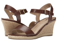 Lifestride Reagan Dark Tan Women's Wedge Shoes Brown
