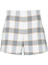 Manning Cartell Checked Shorts White