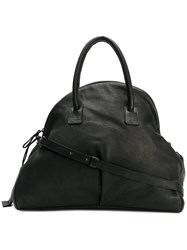 Marsell Oversized Slouched Tote Deer Skin Black