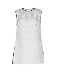 Barbara Casasola Short Dresses White