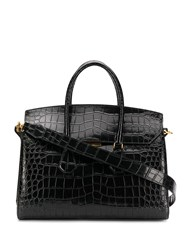 Bally Embossed Croc Effect Tote Bag 60