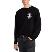 Rta Embroidered Wool Cashmere Sweater Black
