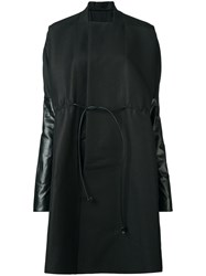 Rick Owens Sail Coat Black