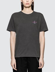 Stussy Globe Short Sleeve T Shirt Black
