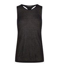 Koral Web Cut Out Vest Top Female Black