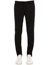 Dsquared Tidy Fit Cotton Twill Chino Pants Black