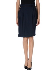 Boy By Band Of Outsiders Knee Length Skirts Dark Blue