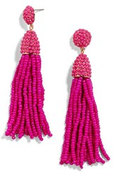 Baublebar Women's 'Pinata' Tassel Earrings Bright Pink