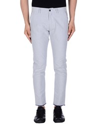 Officina 36 Casual Pants Light Grey
