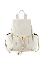 Kooba Margot Leather Backpack Stone