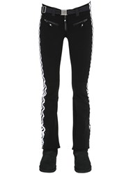 Jet Set Slim Fit Printed Nylon Ski Pants
