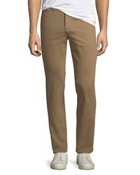 Ag Adriano Goldschmied Everett Slim Straight Twill Pants Wheat Toast