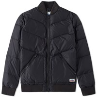 Penfield Vanleer Down Bomber Jacket Black