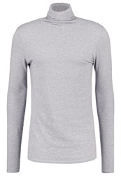 American Vintage Enastate Long Sleeved Top Heather Grey
