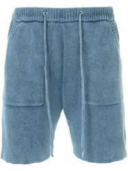 Guild Prime Knitted Shorts Blue