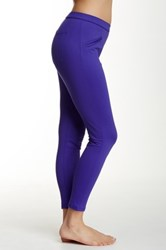Hue Satin Jersey Skimmer Legging Purple