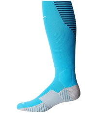 Nike Matchfit Over The Calf Team Socks Current Blue Midnight Navy White Knee High Socks Shoes