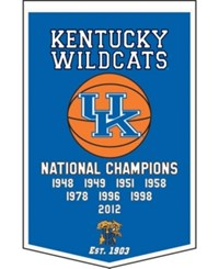 Winning Streak Kentucky Wildcats Dynasty Banner Team Color