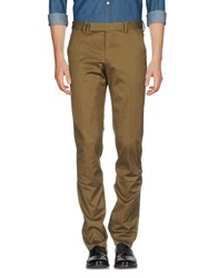 Paul Smith Casual Pants Military Green