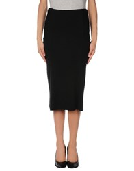 Devotion Skirts 3 4 Length Skirts Women Black
