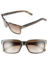 Men's Jack Spade 'Preston' 56Mm Sunglasses Smoky Brown