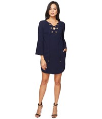 Trina Turk Xandra Dress Indigo Women's Dress Blue