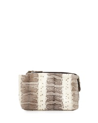 Beirn Large Watersnake Cosmetic Pouch Natural