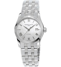 Frederique Constant Fc 303Mpwn1b6b Classics Index Stainless Steel Watch White
