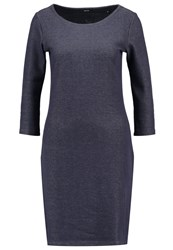 Opus Wonka Jersey Dress Reliable Blue