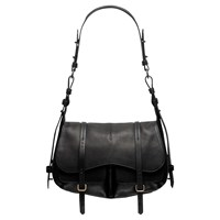 Radley Grosvenor Medium Leather Shoulder Bag Black
