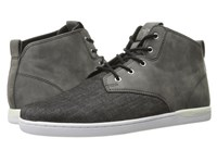 Creative Recreation Vito Wsahed Black Men's Lace Up Casual Shoes Gray