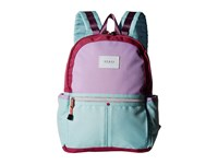 State Bags Color Block Kane Backpack Magenta Mint Backpack Burgundy
