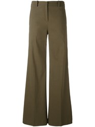Ilaria Nistri Wide Leg Trousers Green