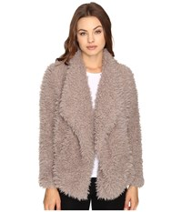 Billabong Do It Fur Love Coat Coconut Shell Women's Coat Brown