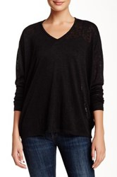 Zoa Easy V Neck Sweater Black