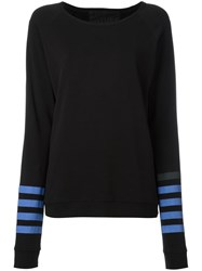 Freecity Stripe Detail Sweatshirt Black