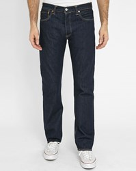 Levi's Raw Denim 501 Jeans