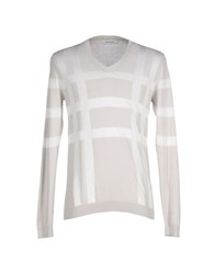 Mauro Grifoni Knitwear Jumpers Men Light Grey