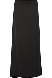 The Row Pacel Stretch Satin Jersey Maxi Skirt