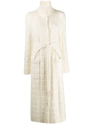 Missoni Belted Cardi Coat White