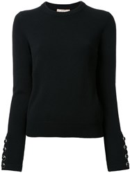 Michael Kors Crew Neck Jumper Black