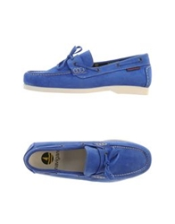 Navigare Moccasins Bright Blue