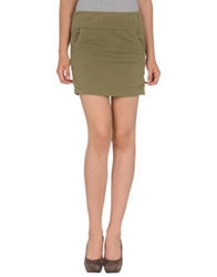 Nolita Mini Skirts Military Green