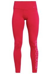 Nike Performance Tights Bordeaux Pink Red