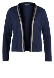 Morgan Cardigan Marine Dark Blue